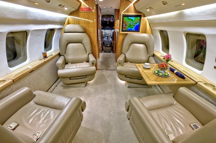Challenger 601 Interior