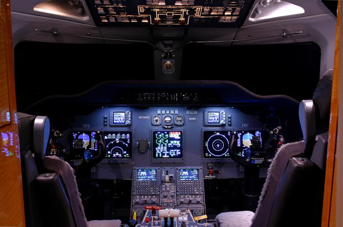 Gulfstream G200 Cockpit