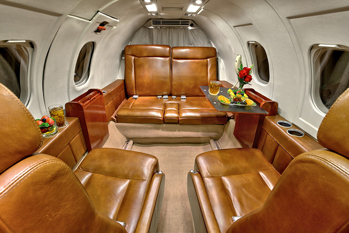 Lear 35A Seating