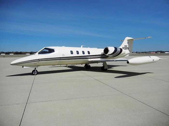 Lear 35A Exterior