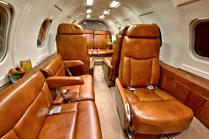 Lear 35A Seats