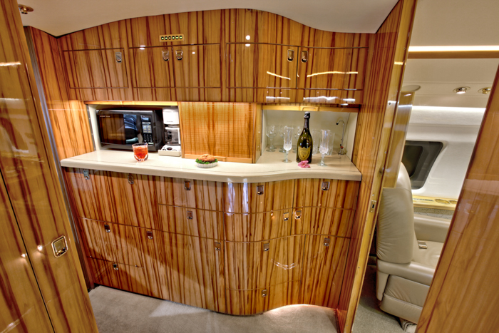 Challenger 601 Galley