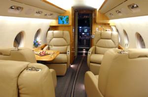 Gulfstream G200 Cabin