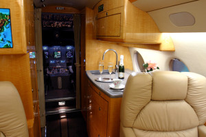 Gulfstream G200 Galley
