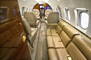 Hawker 800XP Interior
