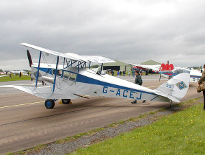 Photo of dh. Fox Moth - biplane