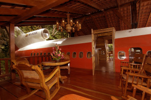 Photo private jet chicago to costa rica = deck